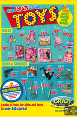 Find Specials || The Crazy Store Toy Specials