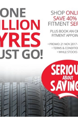 Find Specials || Tiger Wheel and Tyre Online Deals