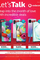 Find Specials || Vodacom February Deals