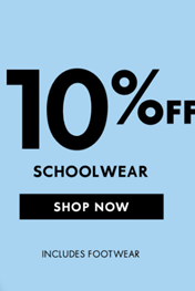 Find Specials || 10% off on School Clothes