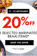 Find Specials || Woolworths Braai Day Specials