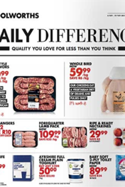 Woolworths Daily Difference 13 Nov 2017 27 Nov 2017