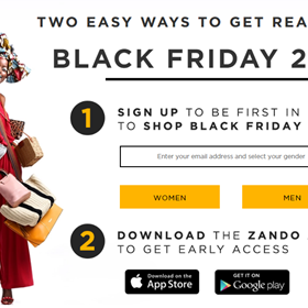 Zando Black Friday 2019