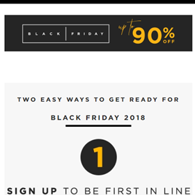 Zando Black Friday Deals