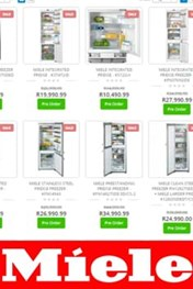 Find Specials || Hirsch's Miele Sale