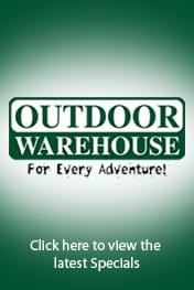 Find Specials || Outdoor Warehouse April Deals