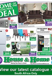 House And Home Specials Catalogue 06 Oct 2015 18 Oct 2015 Find Specials
