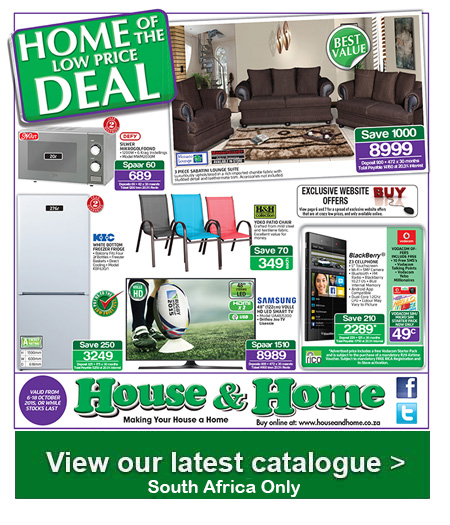Great House And Home Specials Catalogue