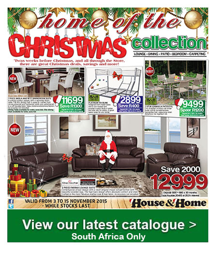 House And Home Christmas Catalogue 03 Nov 2015 15 Nov 2015 Find Specials