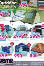 Game Special on Outdoor an Camping