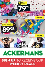 Find Specials || Ackermans Weekly Specials