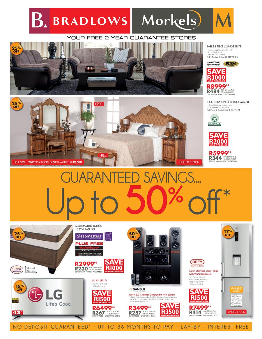 Bradlows and morkels specials 06 jun 2016 22 jun 2016 for X furniture catalogue