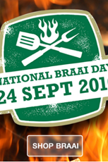 Find Specials || Outdoor Warehouse Braai Day Specials