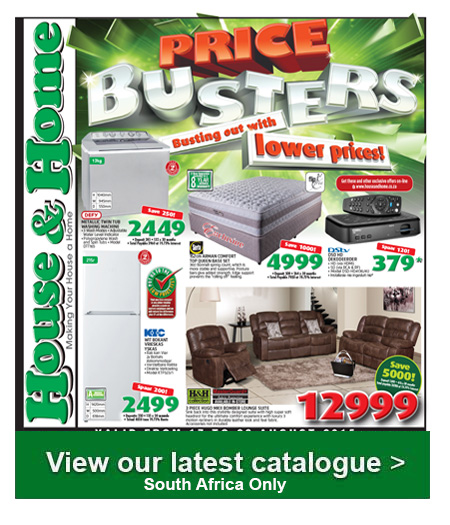 House and home specials 17 aug 2015 23 aug 2015 find specials Home furniture catalogue south africa
