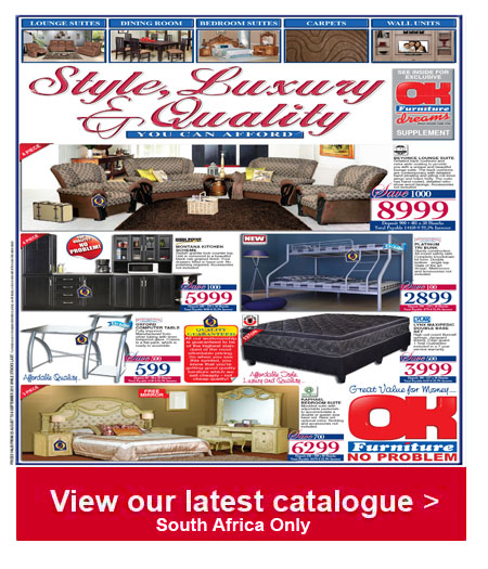 Ok furniture luxury brands specials 01 sep 2015 06 sep 2015 find specials Home furniture catalogue south africa