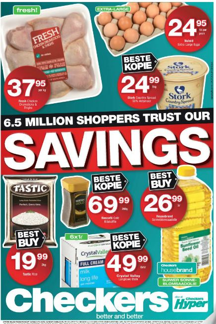 Western Cape Checkers Promotions 24 Aug 2015 06 Sep 2015 Find Specials