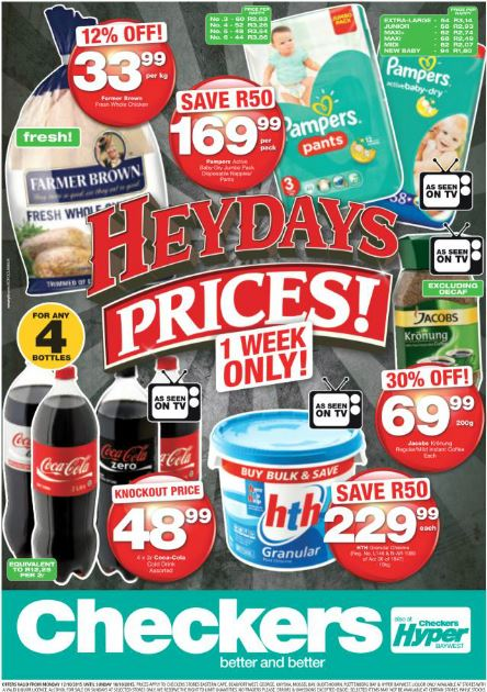 Eastern Cape Heydays Specials 12 Oct 2015 18 Oct 2015 Find Specials