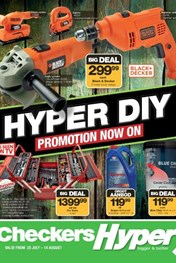Checkers Hyper Diy Specials 25 Jul 2016 14 Aug 2016 Find Specials