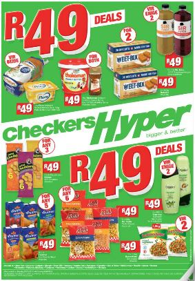 Gauteng Checkers Hyper Specials 23 May 2016 05 Jun 2016 Find Specials