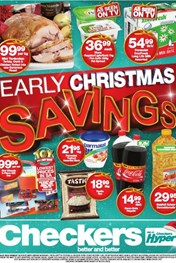Western Cape Early Christmas Checkers Specials 23 Nov 2015