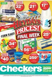Eastern Cape Checkers Heydays Specials