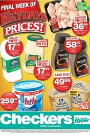 Find Specials || Gauteng, North West, Limpopo, Mpumalanga Checkers Heydays Specials