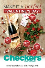 Western Cape Checkers Valentine's Day Specials