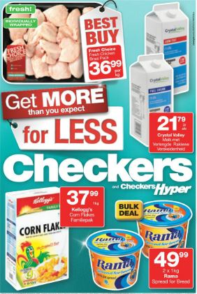 Gauteng Limpopo Mpumalanga North West Checkers Specials 23 Jul 2015 09 Aug 2015 Find Specials