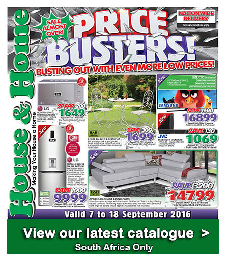 House And Home Specials Catalogue 07 Sep 2016 18 Sep 2016 Find Specials
