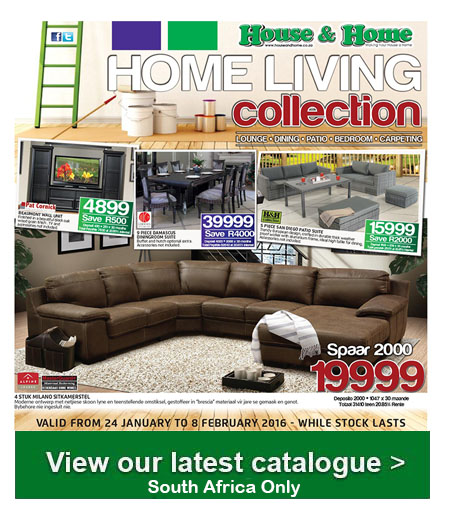 House And Home Living Catalogue 24 Jan 2016 08 Feb 2016 Find Specials