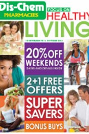 Find Specials || Dischem Healthy Living Specials