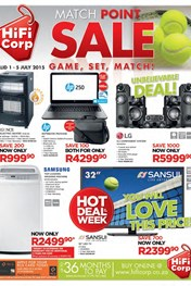 Find Specials || HiFi Corp Weekly Sepcials