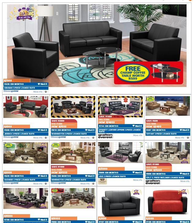 Joshua doore russells furniture specials 22 mar 2016 20 apr 2016 find specials Home furniture catalogue south africa