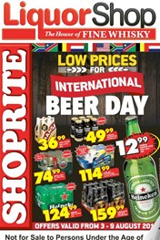 Find Specials || KZN Liquor Shop International Beer Day Promotions