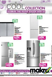 Makro Cool Appliances Specials 25 Oct 2015 02 Nov 2015 Find Specials