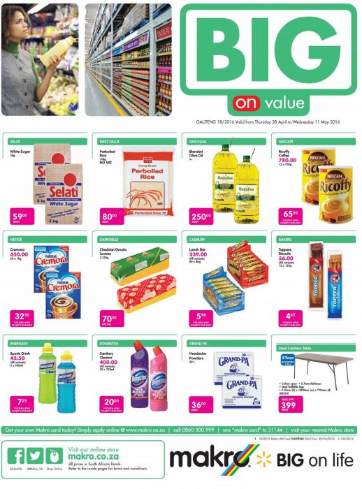 Makro Food Catalogue 28 Apr 2016 11 May 2016 Find Specials