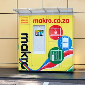 Makro's Pick-Up Locker Collection Service