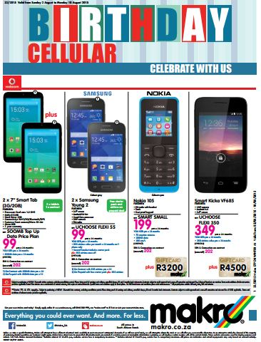 Makro ottery cell phone deals