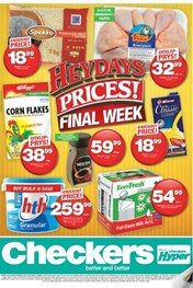 Free State, Northern Cape Checkers Heydays Specials