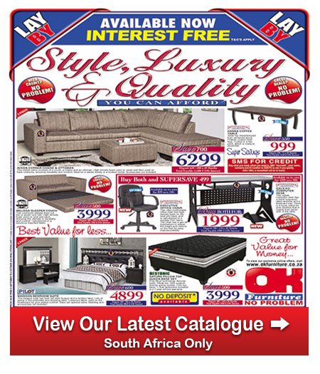Ok furniture catalogue 23 sep 2016 02 oct 2016 find specials Home furniture catalogue south africa