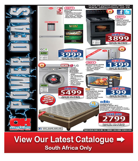 Ok furniture specials 25 jul 2016 07 aug 2016 find specials Home furniture catalogue south africa