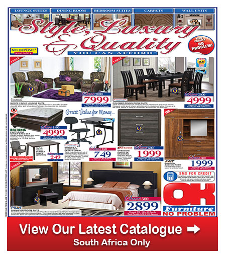 Ok Furniture Specials 28 Jun 2016 10 Jul 2016 Find Specials: home furniture catalogue south africa