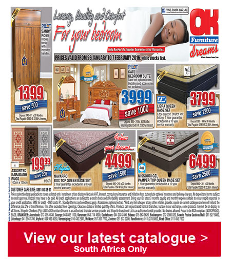 OK Furniture Bedroom Specials 26 Jan 2016 - 07 Feb 2016 ...