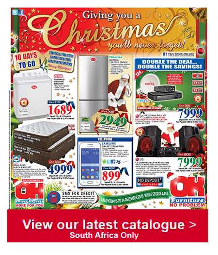 Ok furniture specials 15 dec 2015 24 dec 2015 find specials Home furniture catalogue south africa