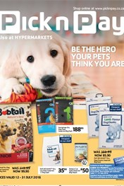 Pick n Pay Pet Specials