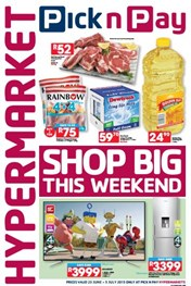 Find Specials || Pick n Pay Hypermarket Shop Big This Weekend Promotions