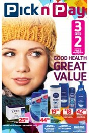 Find Specials || Pick n Pay Health and Beauty Specials