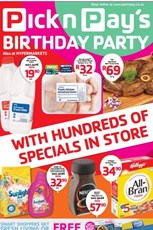 Find Specials || Pick n Pay Birthday Celebrations Deals