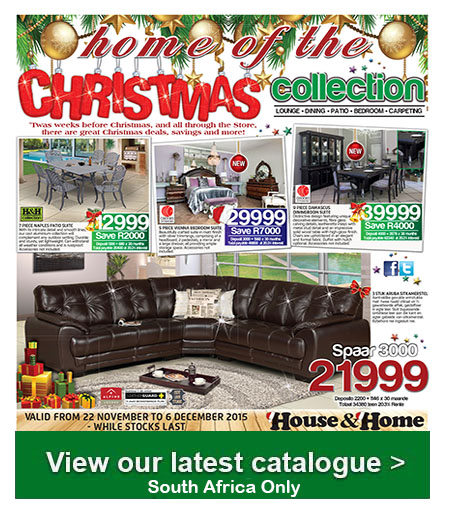 House And Home Christmas Specials Catalogue 22 Nov 2015 06 Dec 2015 Find Specials
