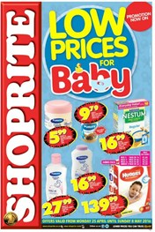Eastern Cape Shoprite Baby Product Deals